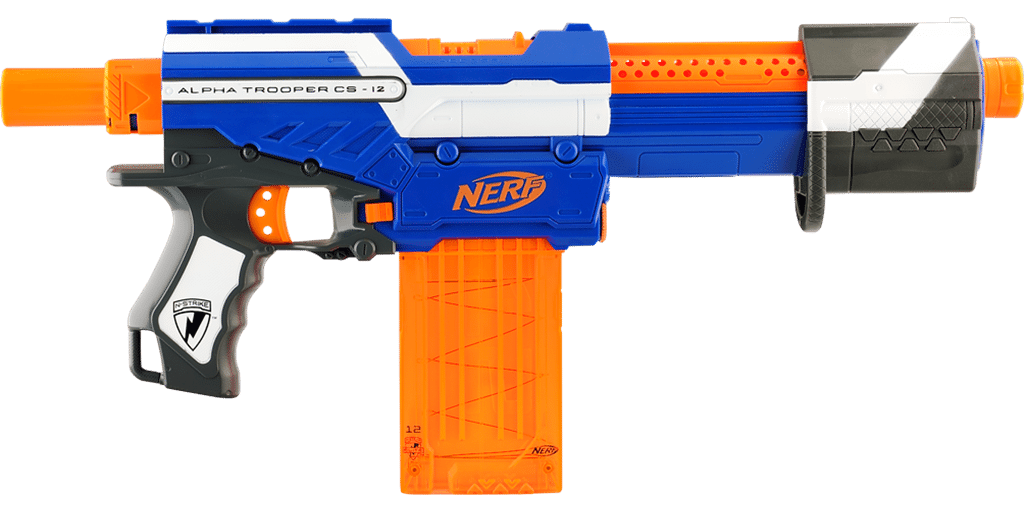 Nerf Elite Guns nerf elite alpha trooper nerf gun attachments