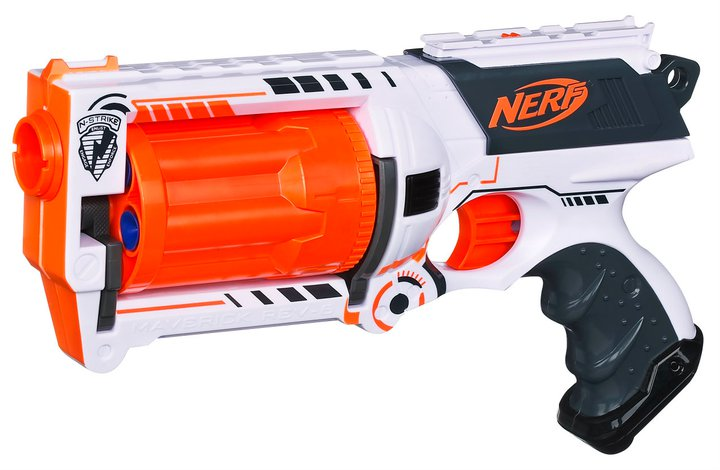 nerf maverick whiteout