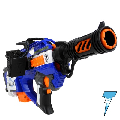 nerf rayven with aliens ammo counter nerf attachments