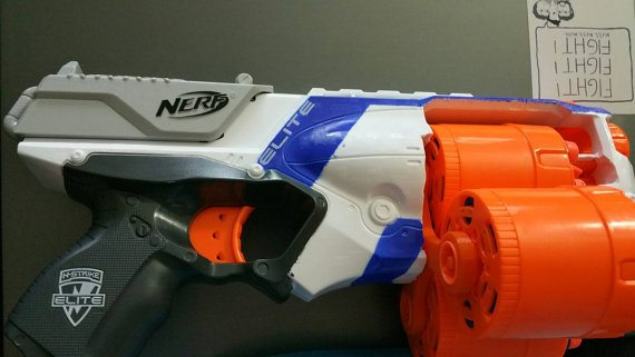nerf strongarm mod from etsy