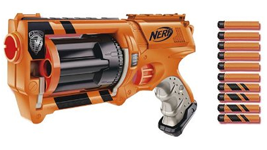nerf maverick gear up