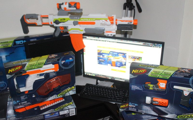 nerf gun attachments pc setup