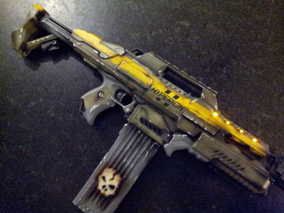 nerf rapidstrike borderlands mod