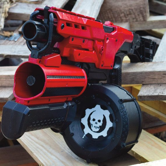 nerf demolisher mod