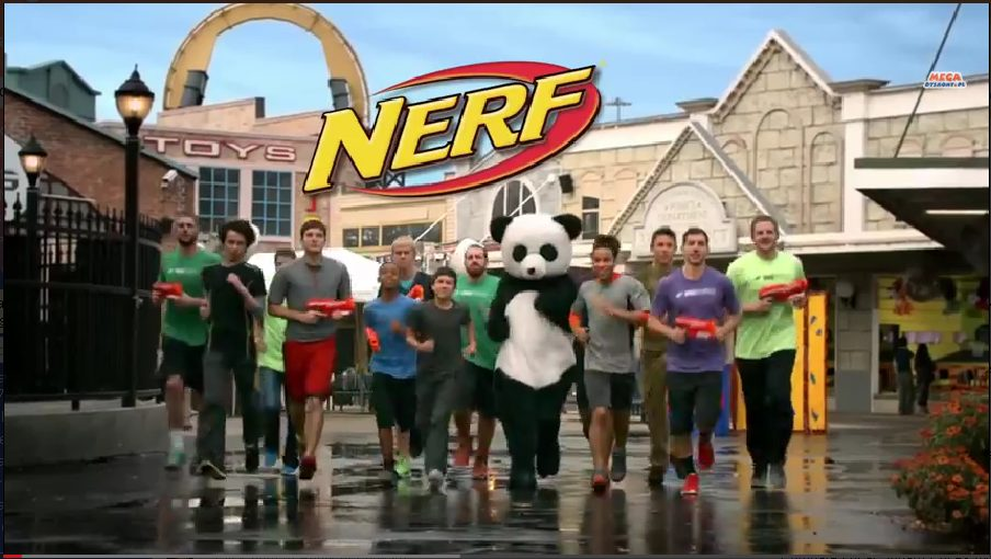 dude perfect nerf