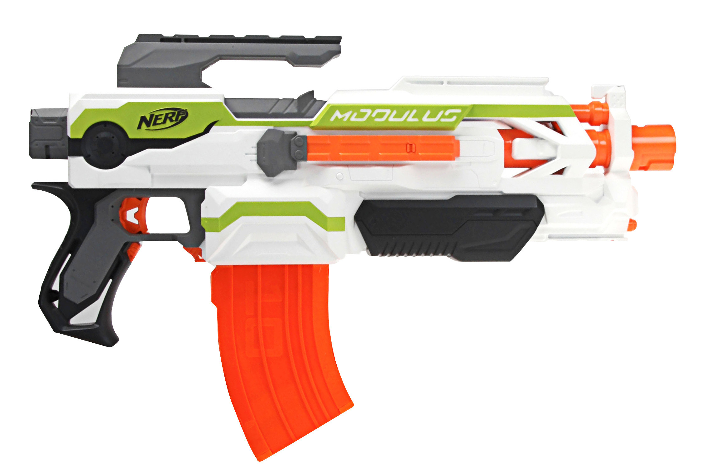 Hop on over to Amazon where Prime Members can score this NERF N-Strike  Elite Mega Magnus Blaster for just $5.49 $9.97 (regularly $16.89)! This  blaster ...