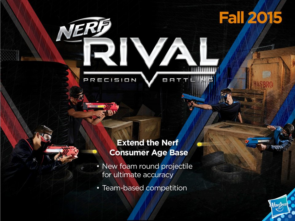 nerf rival blasters nerf 2015