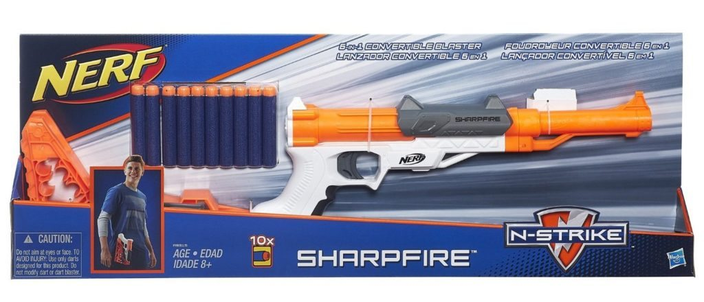 nerf sharpfire box