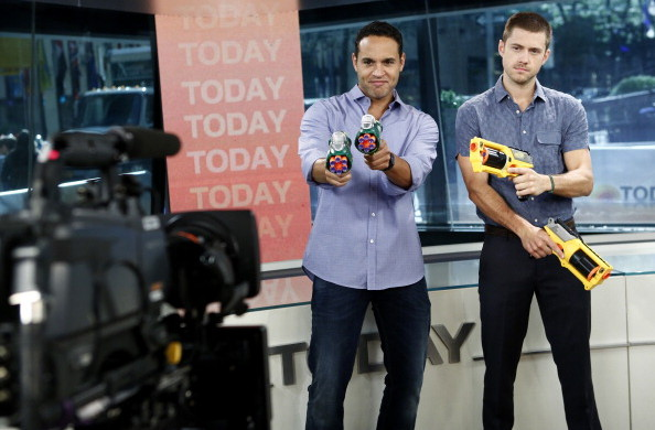 today show nerf blasters