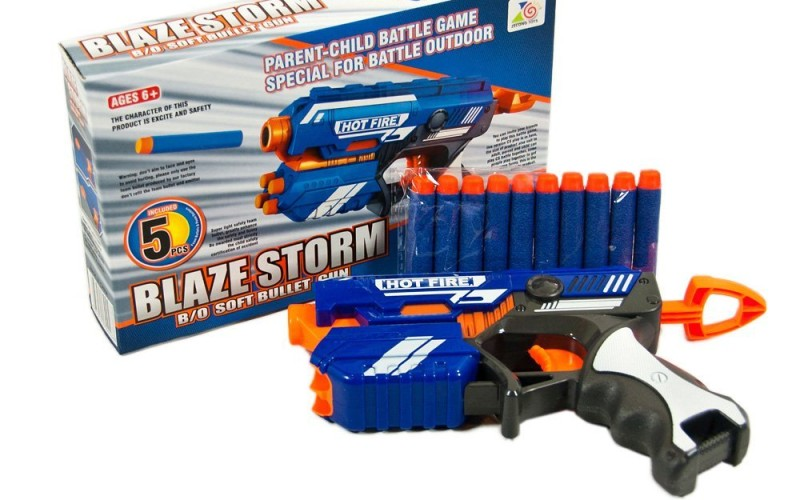nerf firestrike knockoff blaze storm hot fire