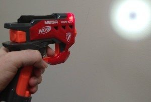 nerf mega bigshock flashlight attachment