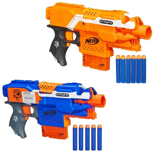 Amazoncom Nerf NStrike Elite Rapid Strike Mission Kit