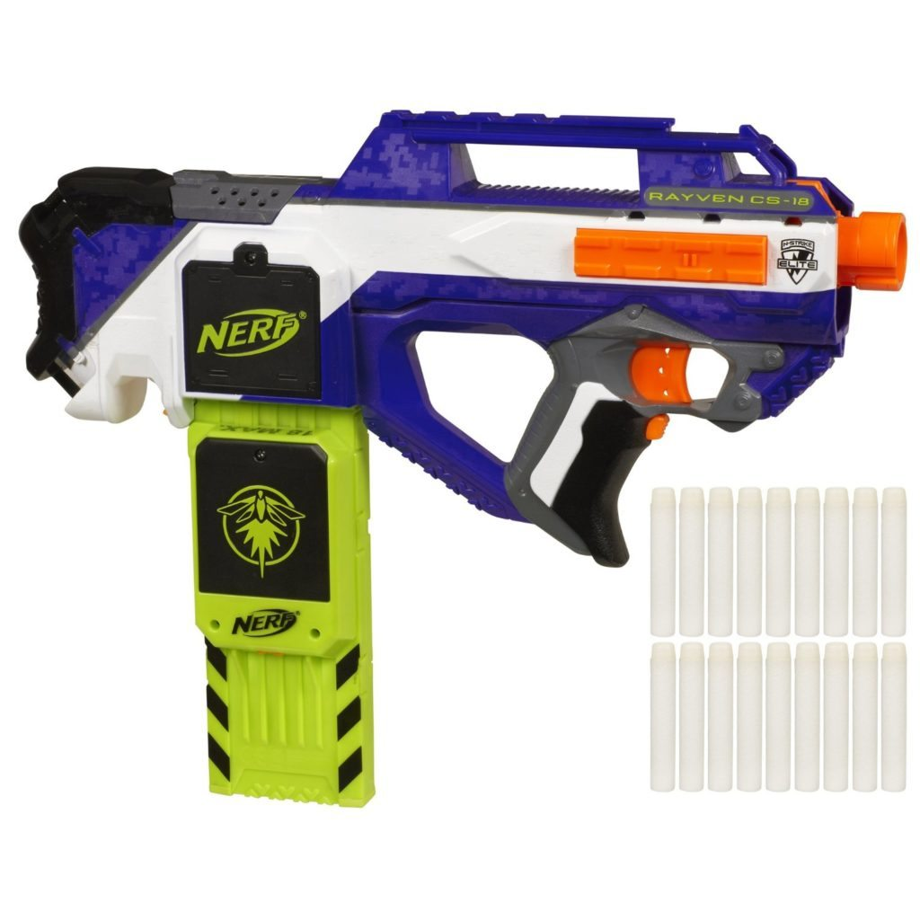 nerf elite flywheel blasters