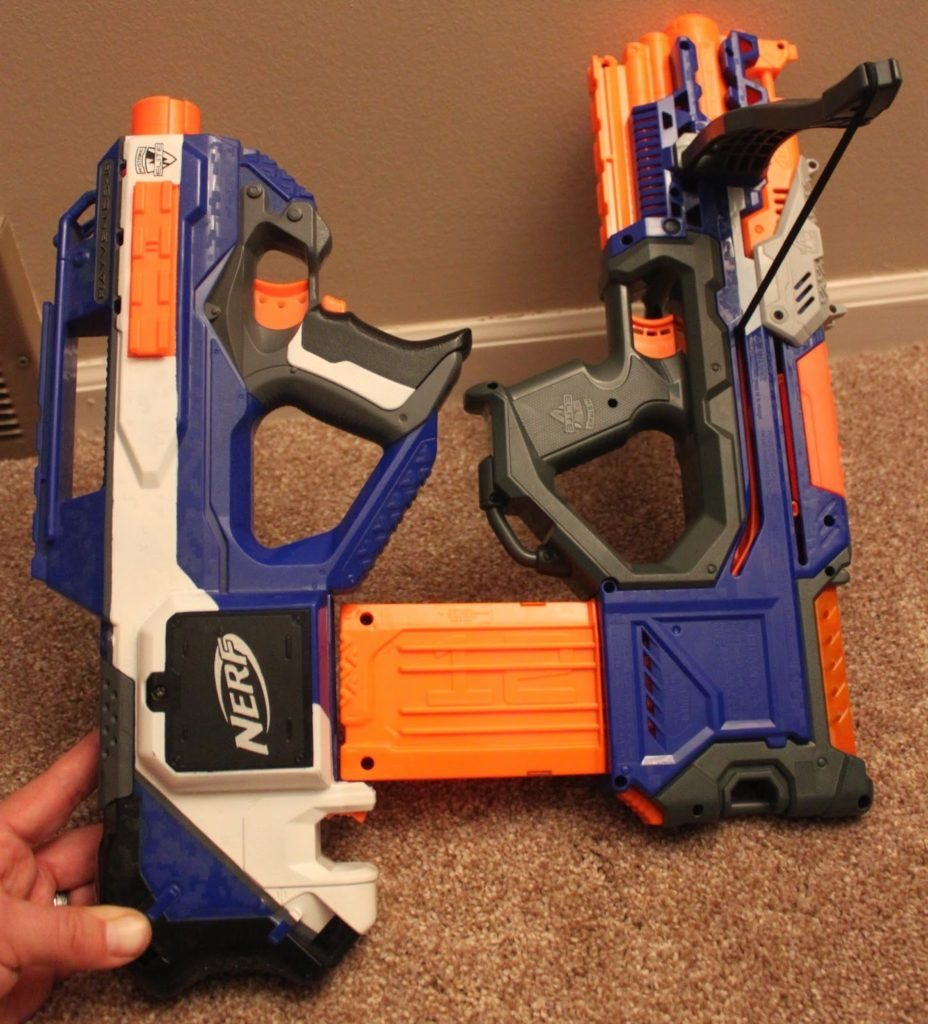 nerf crossbolt and nerf rayven comparison