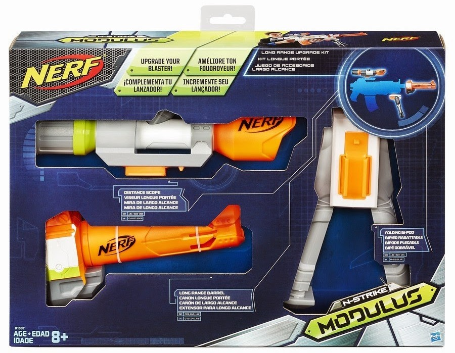 new nerf modulus long range upgrade kit