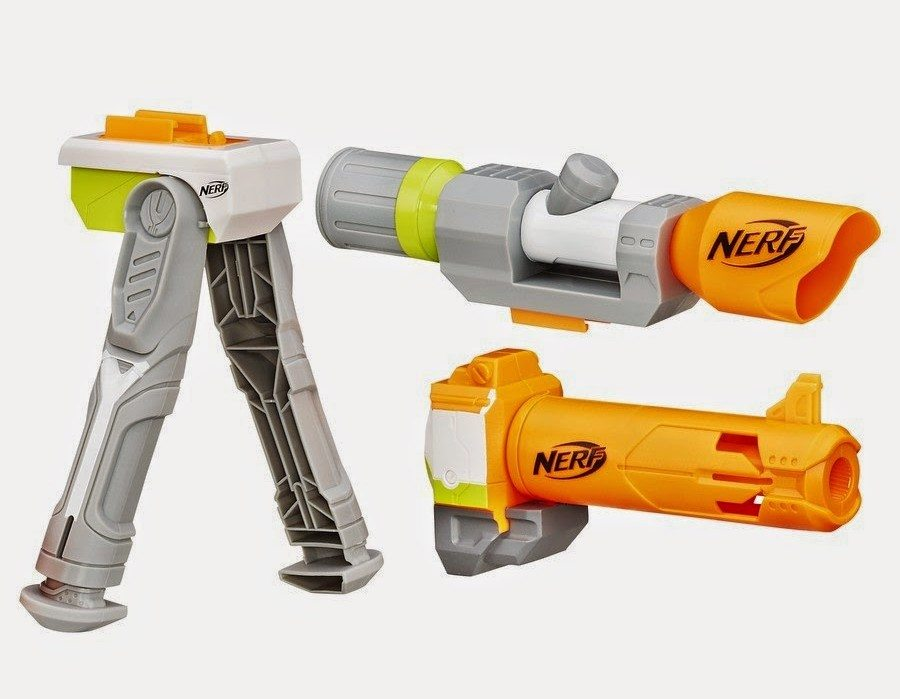 new nerf modulus long range upgrade kit attachments