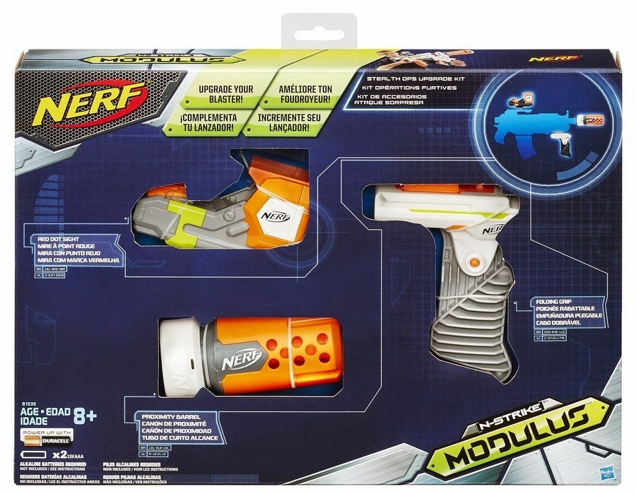 new nerf modulus stealth ops upgrade kit attachments