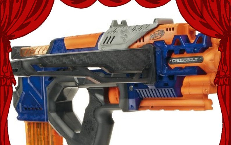 behind the nerf crossbolt