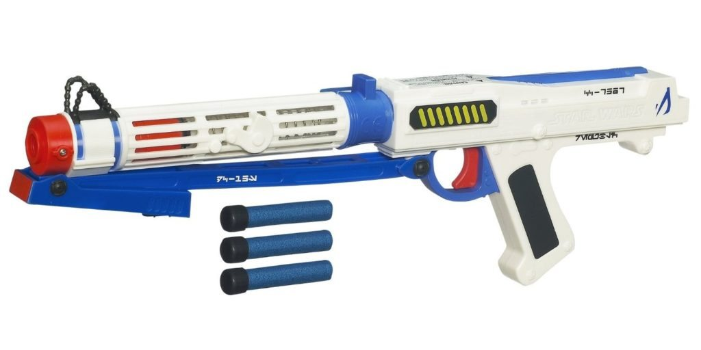 hasbro Star Wars Captain Rex electronic Blaster