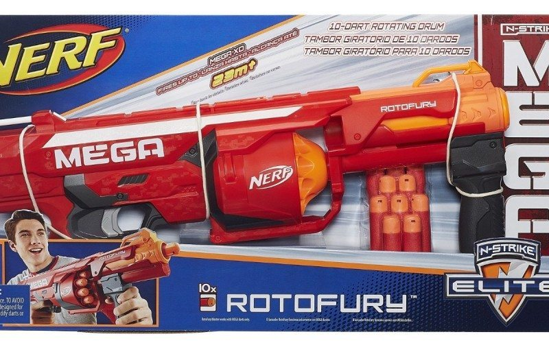 NERF BLASTERS! NY Toy Fair 2015 N Strike Elite, MEGA RotoFury, Sling  Strike, Rhino Fire, M - Video Dailymotion