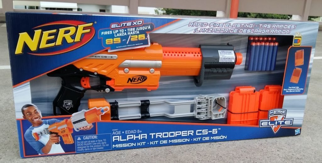 nerf alpha trooper xd