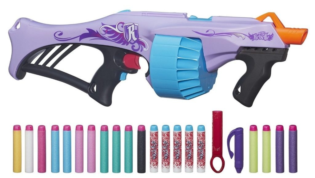 nerf rebelle fearless flyer