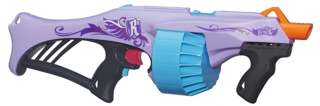 Image is loading Nerf-Rebelle-Pink-Crush-Blaster-Gun-Toy-2-