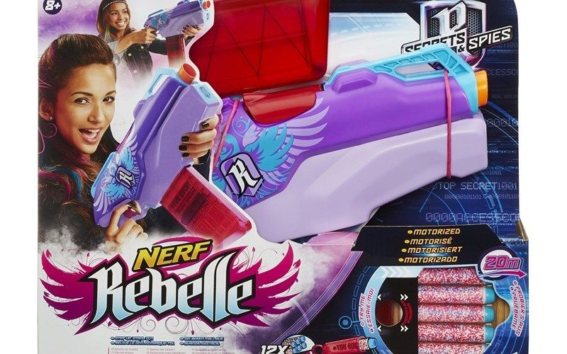 nerf rebelle rapid red box art
