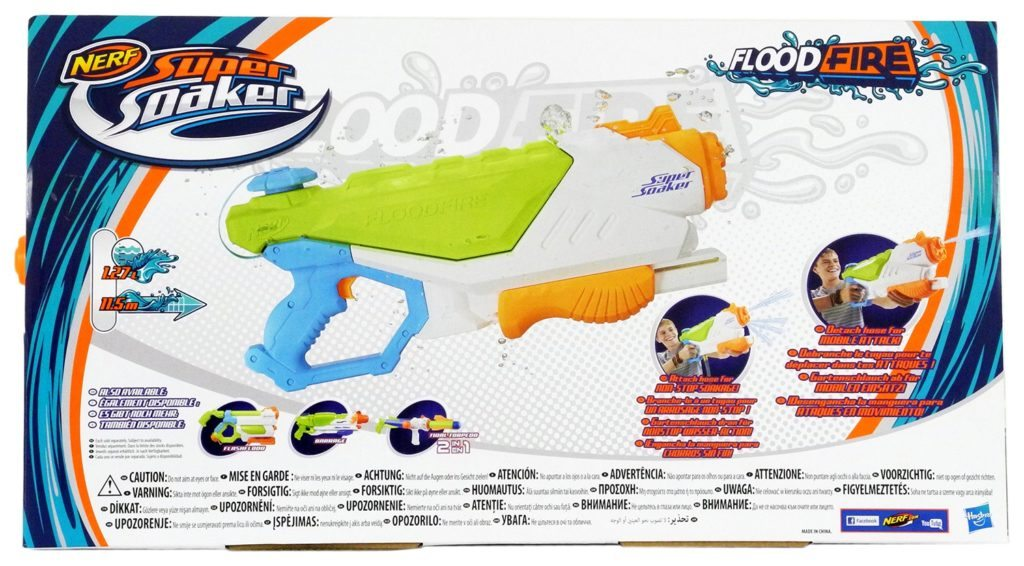 nerf super soaker floodfire box back