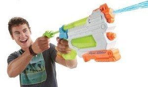 nerf super soaker flashflood drench blast flood fire