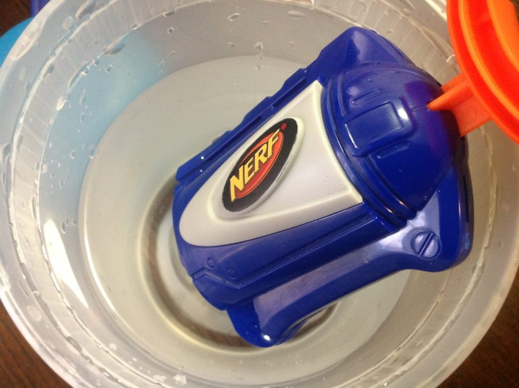 nerf water squirter refill