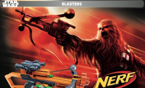 new nerf star wars toys