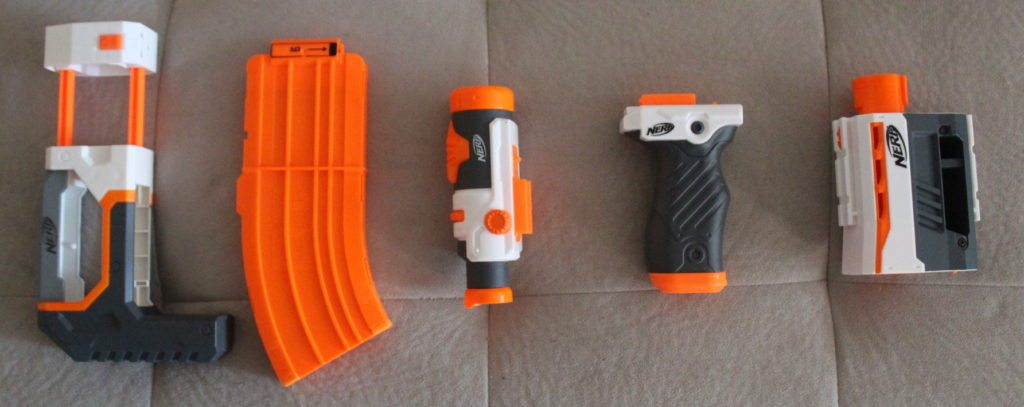 nerf modulus review modulus attachments
