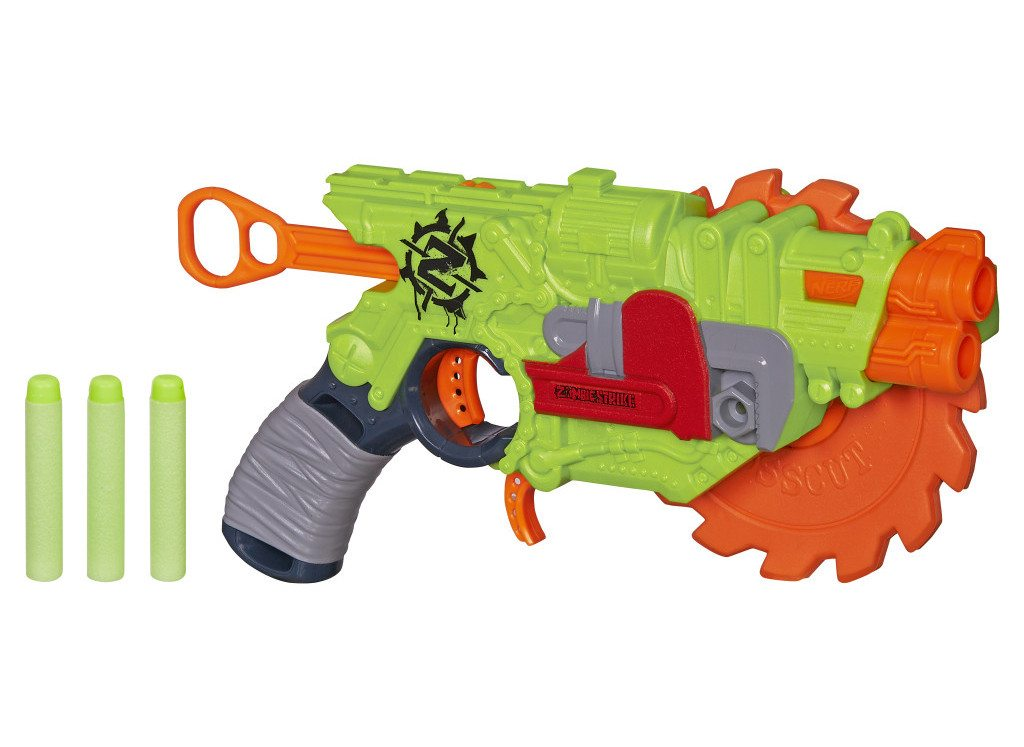nerf zombie strike crosscut blaster new nerf news 2015