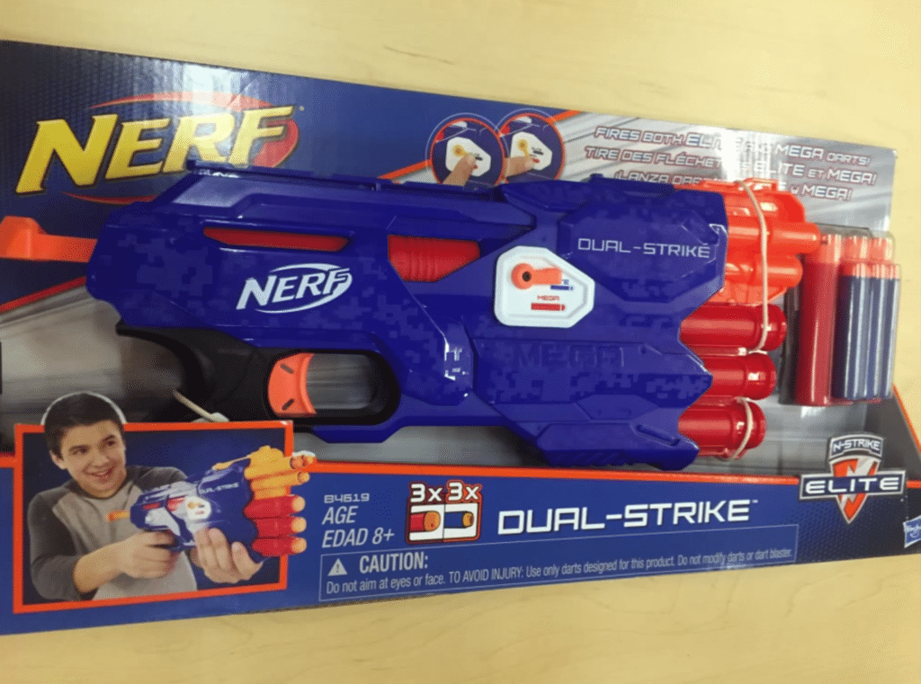 nerf elite dual strike blaster new nerf news 2015