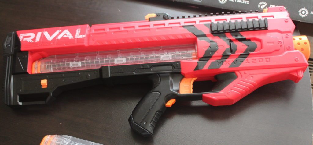 These Nerf Rival blasters really are something, aren't they? I love the  designs of these guns. The Nerf Rival Zeus sports another striking design,  ...