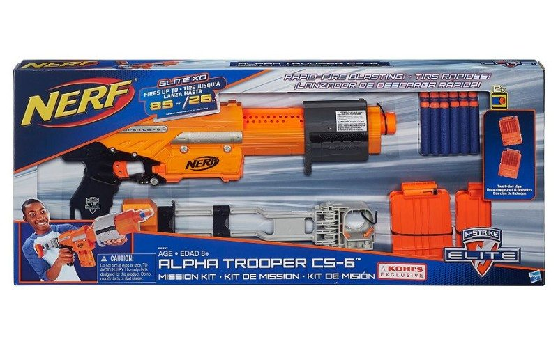new nerf guns for sale 2015 nerf elite xd alpha trooper at kohls