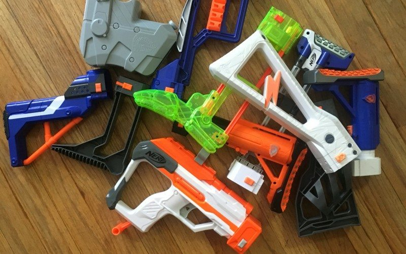 nerf stock assortment