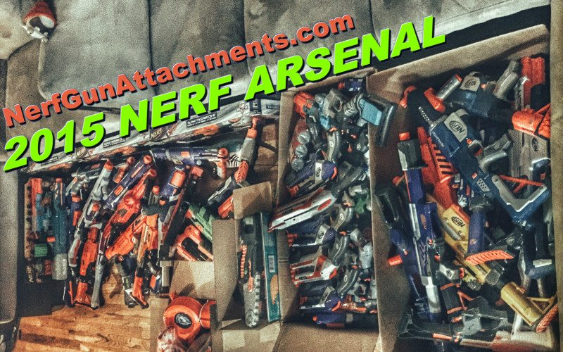 nerf arsenal 2015 nerf collection