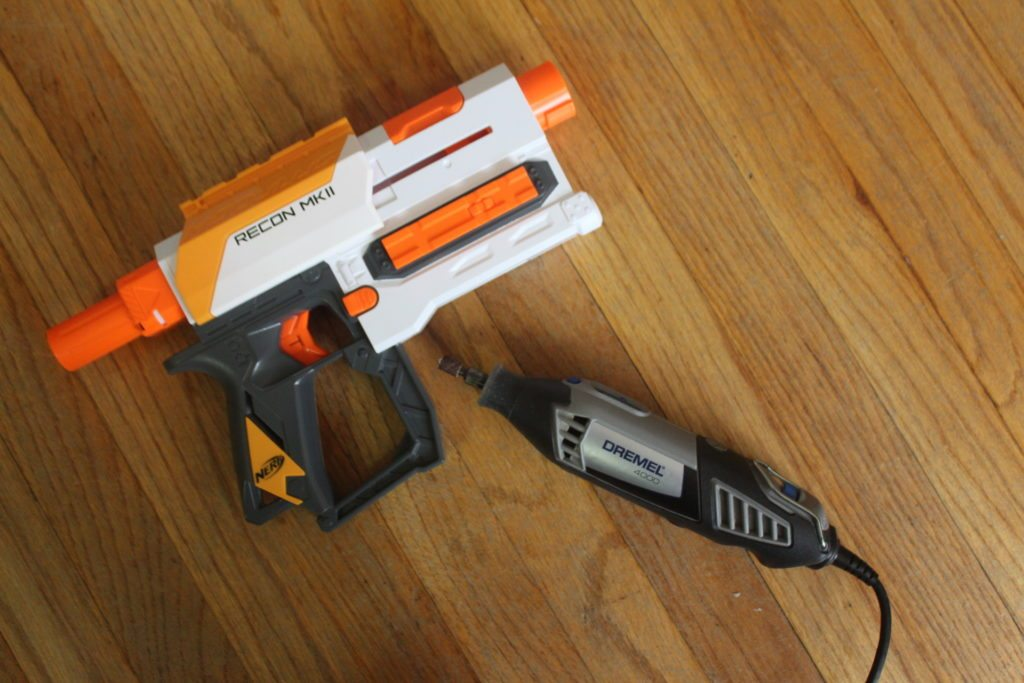 fixing the nerf modulus recon mkii