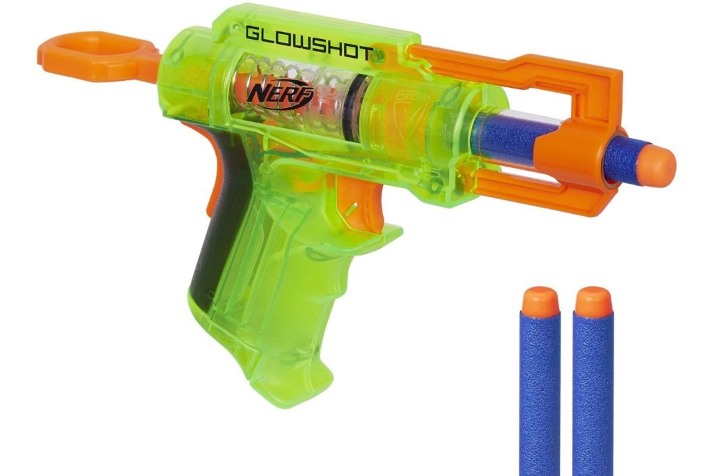 nerf n strike glowshot green