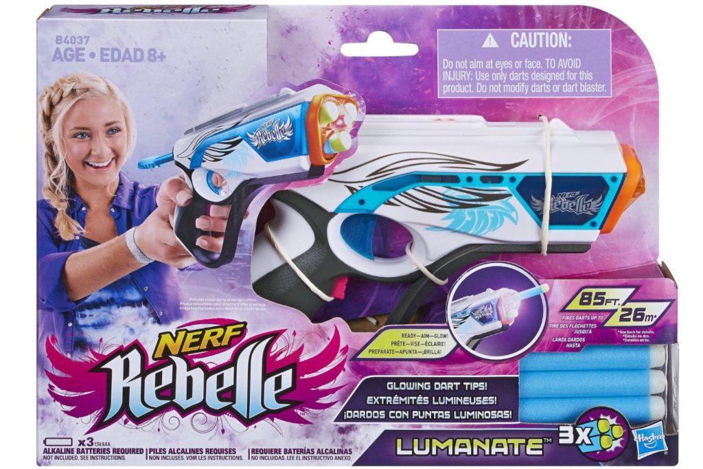 nerf rebelle lumanate
