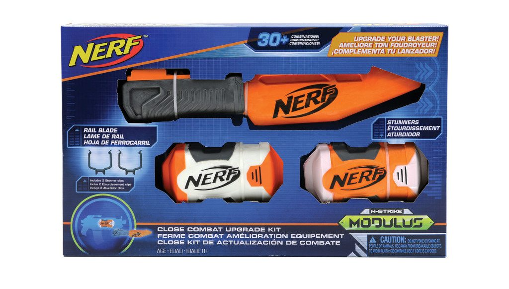 Nerf Modulus Kits: Close Quarters Upgrade Kit