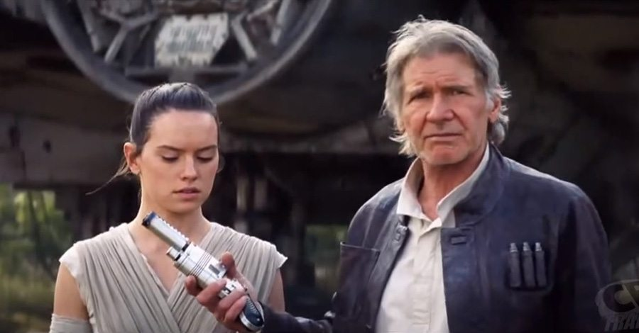 nerf rey blaster han solo gives rey the blaster