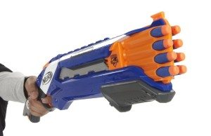 Shotguns, Break and Pump Action: Click to see my multi-shot madness Nerf  blasters at Amazon.