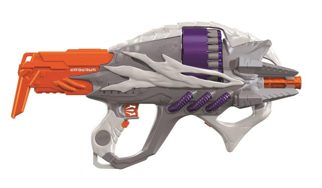 new nerf guns 2016 nerf alien menace incisor blaster