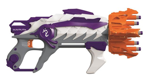 new nerf guns 2016 nerf alien menace ravager blaster