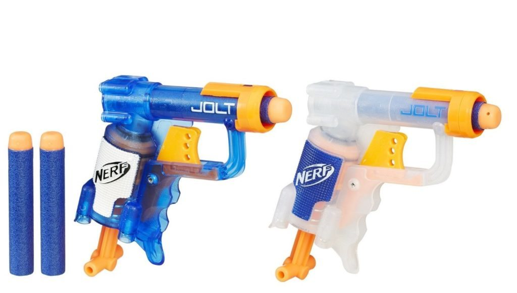 cheap nerf guns, nerf jolt 2 pack set