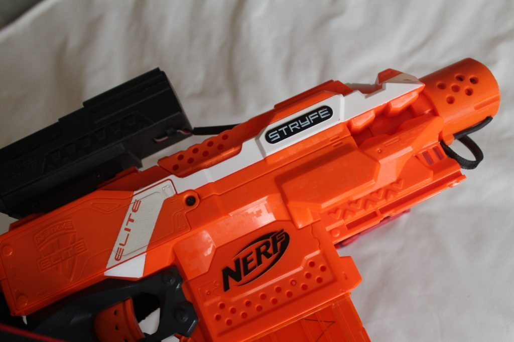 nerf dart ammo counter attachment