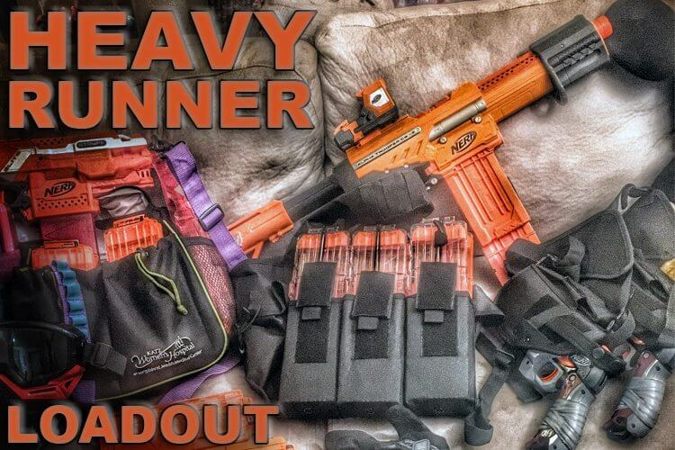 nerf war loadout heavy runner nerf loadout nerf war loadouts